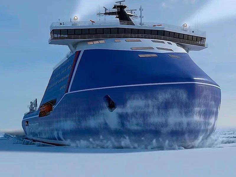 V Rusku postavia najvýkonnejší atómový ľadoborec v histórii
